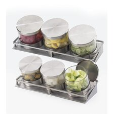 Mixology 3 Jar Holder with Hinge