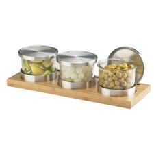 Small Bamboo Base Jar Display