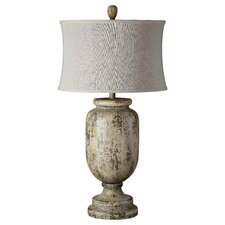 "Grace 33.5"" Table Lamp with Drum Shade"