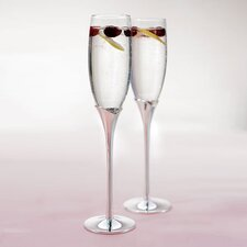 Wedding Toasting Champagne Flute Glass (Set of 2)