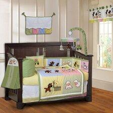 Barnyard Farm Neutral Baby 10 Piece Crib Bedding Set