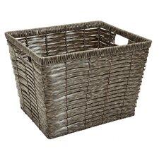 Grey Chip Storage Basket
