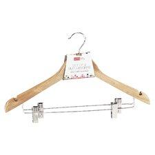 Coat Hanger with Clips (Set of 2)