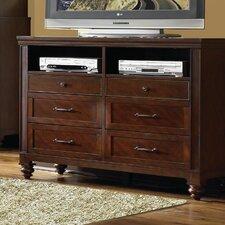 Auburn 6 Drawer Double Dresser