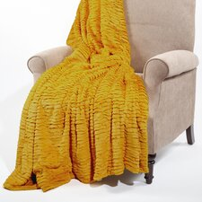 Air Brushed Colleen Faux Fur Throw Blanket