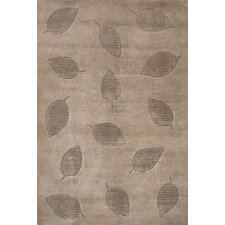 Chelsea Leaves Contemporary Rug