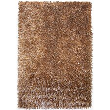 Elementz Shag Brown Area Rug