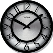 "8"" Steel Wall Clock"