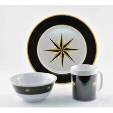 Decorated 12 Piece Dinnerware Gift Set