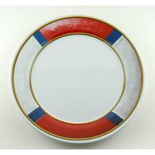 Decorated Life Preserver Non-skid Platter (Set of 2)