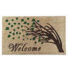 Welcome Tree Doormat