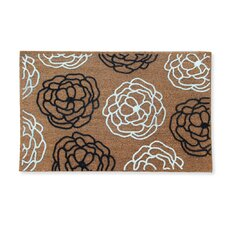 First Impression Magnolia Wildflower Entry Doormat