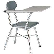 "17.5"" Plastic Tablet Arm Chair"