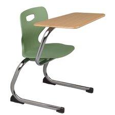 Euro Plastic Tablet Arm Chair