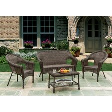 Earth Entertainment 4 Piece Deep Seating Group