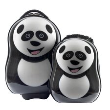 Cuties and Pals 2 Piece Panda Luggage Set