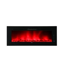 Luxury Linear Wall Mount Recess Freestanding Electric Fireplace