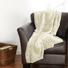 Veranda Plush Sculpted Velvet Throw