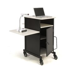 Jumbo Plus Presentation Cart Full Podium
