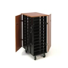 24-Compartment Tablet Charging Storage Cart