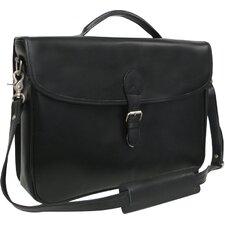 Montana Leather Laptop Executive Briefcase