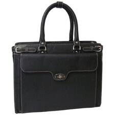 Kingsley Leather Laptop Briefcase