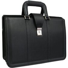 APC Litigator Leather Executive Briefcase
