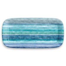 Sea Blues Stripe Appetizer Platter