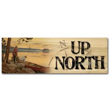 Up North Song of the North Wooden Graphic Wall Art