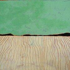 'Low Tide' by Regine La Fata Original Painting on Wrapped Canvas