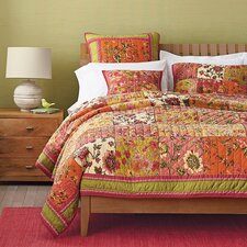 Bed of Roses Floral Quilt Cover Set (Set of 3)