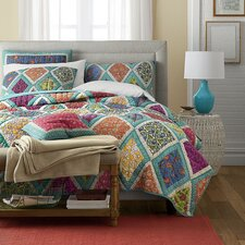 Fairy Forest Glade Floral Quilt Cover Set