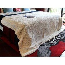 Tache Faux Fur Throw Blanket