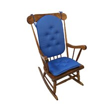 Twill Gripper DelightFill Rocking Chair Cushion