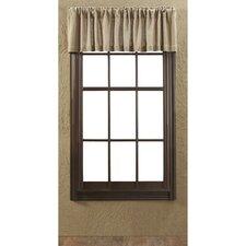 "Burlap 72"" Curtain Valance"