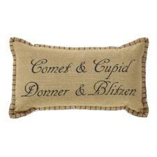 Prancer Cotton Throw Pillow (Set of 2)