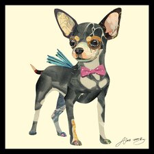 'Chihuahua' by Alex Zeng Framed Graphic Art