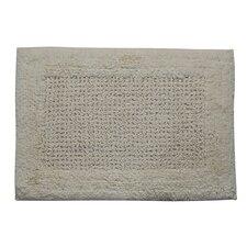 Castle 100% Cotton Naples Spray Latex Back Bath Rug