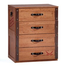 Pirate 4 Drawer Chest