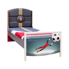 Soccer Twin Bed with Mattress