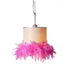 Pretty in Pink 1 Light Ceiling Lamp