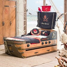 Pirate Captain's Armada Ship Storage Bed