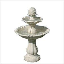 Alabastrite Acorn Tiered Fountain