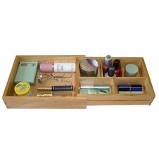 Wood Expandable Drawer Organizer