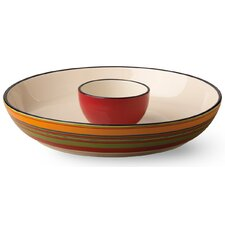 Habanera 2 Piece Chip & Dip Tray Set