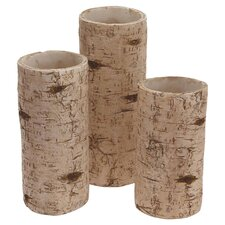 Birch 3 Piece Hurricane Set