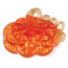 Glass Pumpkin Sculpture