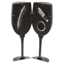 Chalkboard Wine Glass Tool Set