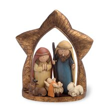 "6"" Nativity Whimsical Figurine"