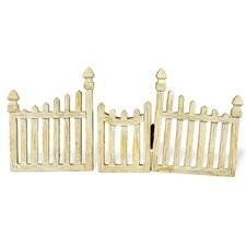 Fairy Picket Fence and Gate (Set of 2)